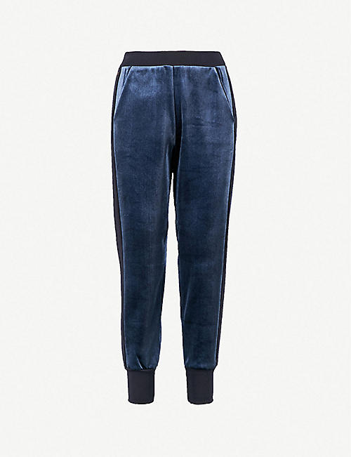 ee16461bc TED BAKER Ted Says Relax relaxed-fit velvet jogging bottoms