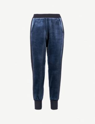 TED BAKER Ted Says Relax relaxed-fit velvet jogging bottoms