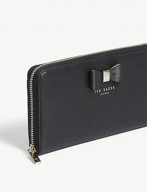 TED BAKER Peony zip around matinee wallet