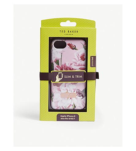 7d07b58d11af0 TED BAKER Elda iPhone 8 case (Light+pink