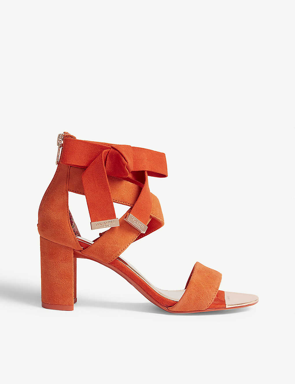 a4e9766149c8 TED BAKER - Noxen suede block heel sandals