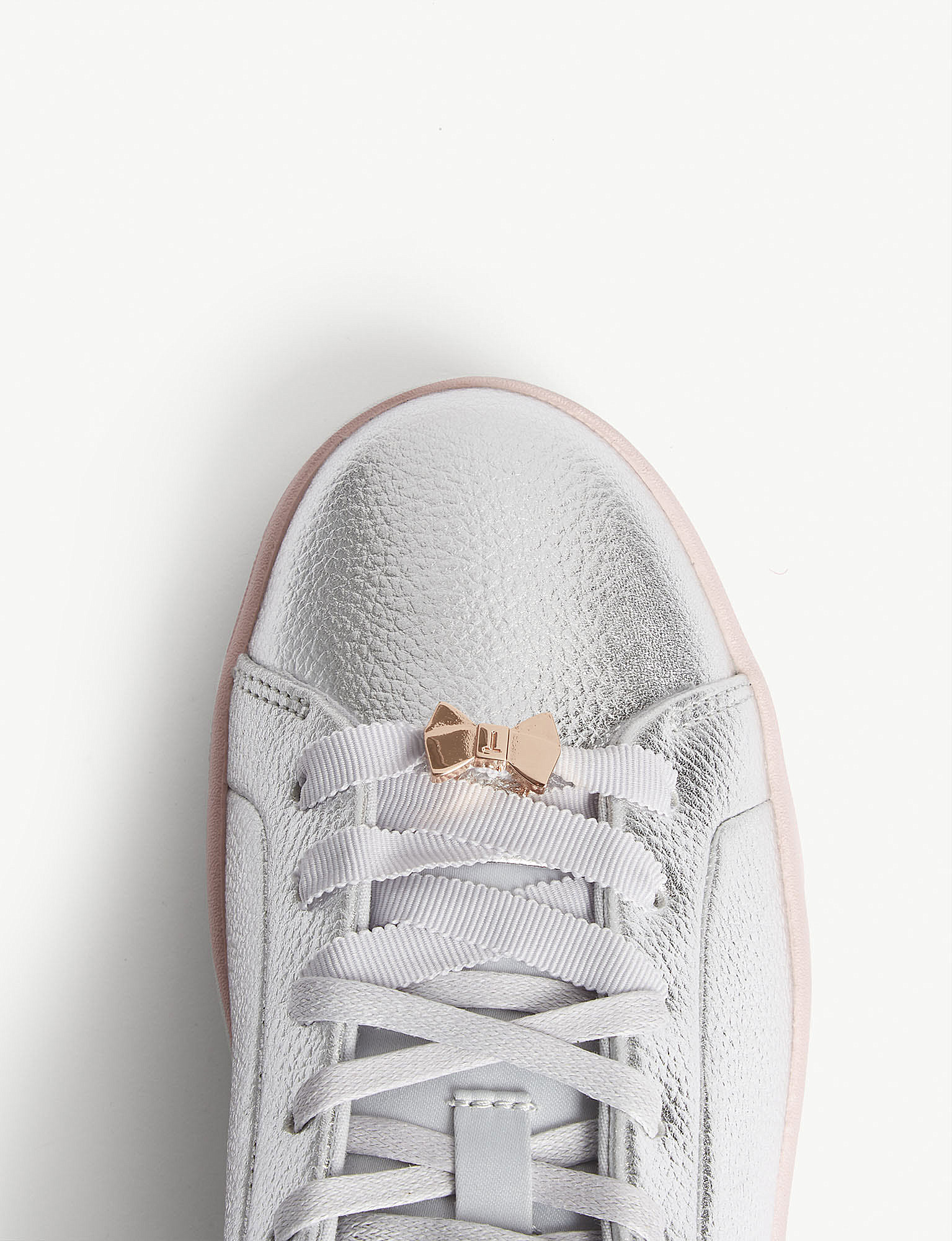 8b060bd3d TED BAKER - Gielli leather trainers
