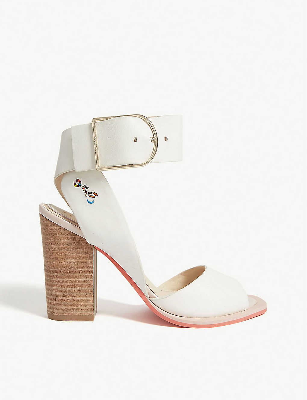 fef534bf3097 TED BAKER - Thasiel leather block heel sandals