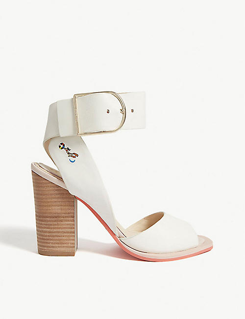 76248cd055f TED BAKER Thasiel leather block heel sandals