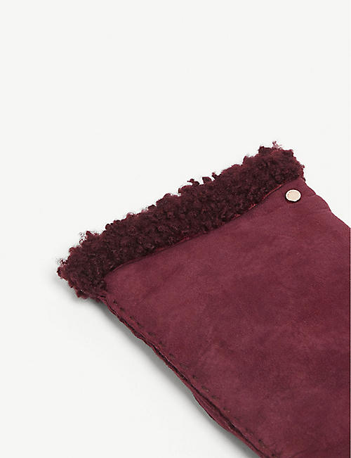 TED BAKER Shearling gloves