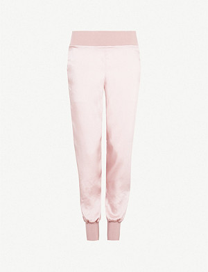 TED BAKER Aibrey satin jogging bottoms