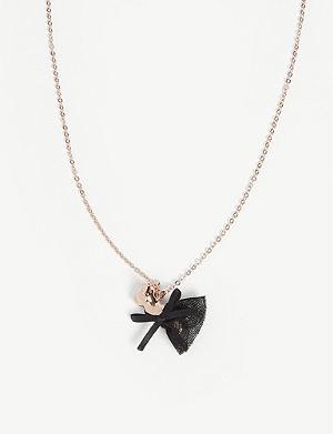 86436eb576e Dameka ribbon bow pendant. TED BAKER Cotania bulldog pendant