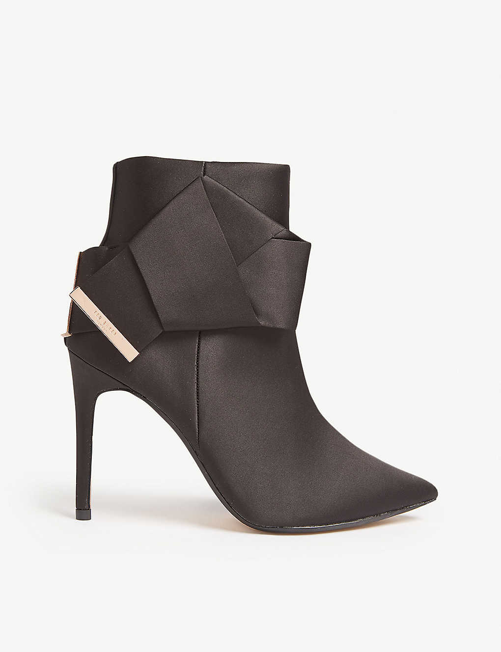 7a5dfa52cd6d TED BAKER - Celiah satin ankle boots