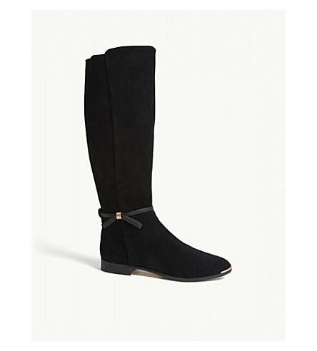 Ted Baker BOW DETAIL KNEE HIGH BOOTS