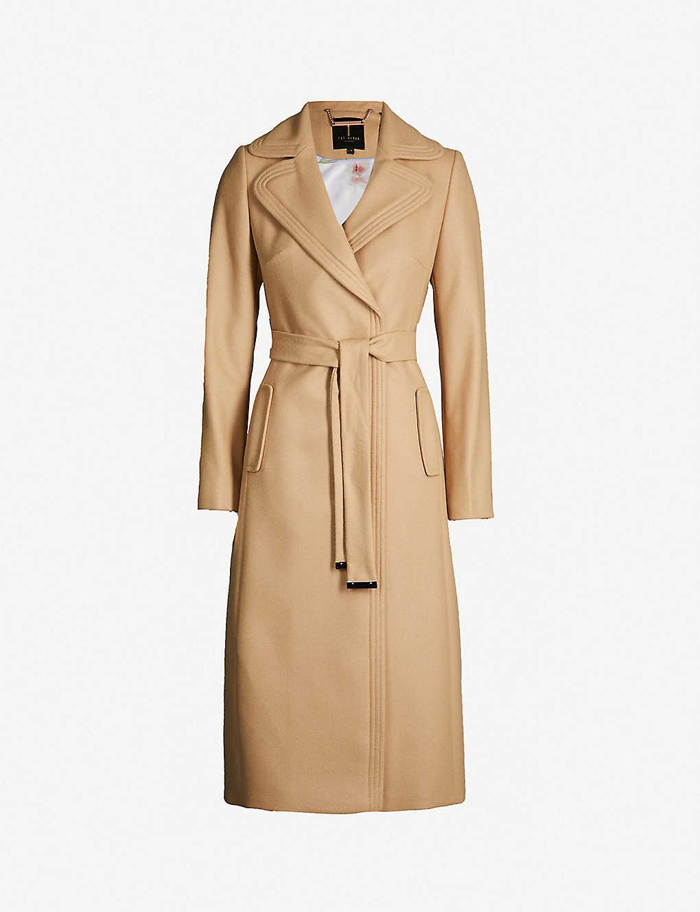 75f7d733da0d TED BAKER - Gabella wool-blend coat