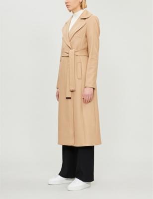 good texture best shoes how to find TED BAKER - Gabella wool-blend coat | Selfridges.com