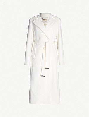 7aec71595f7 TED BAKER - Gabella wool-blend coat | Selfridges.com