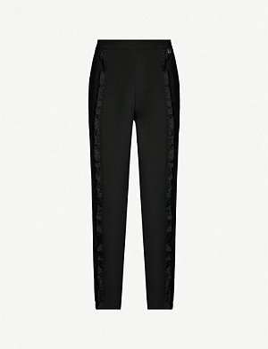 TED BAKER Ruffle lace side jogger