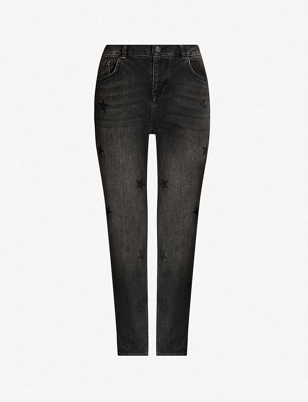 7c380a70825 TED BAKER - Rilee star-detail boyfriend-fit high-rise jeans ...