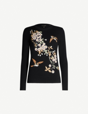 TED BAKER Helliah knitted jumper