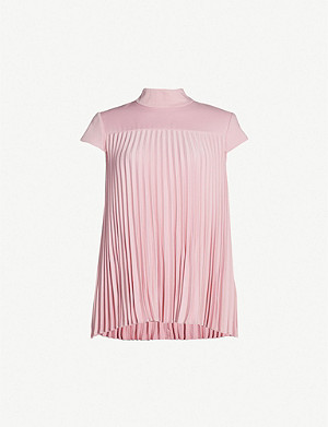 4556d0741a95 TED BAKER - Laurra pleated satin top