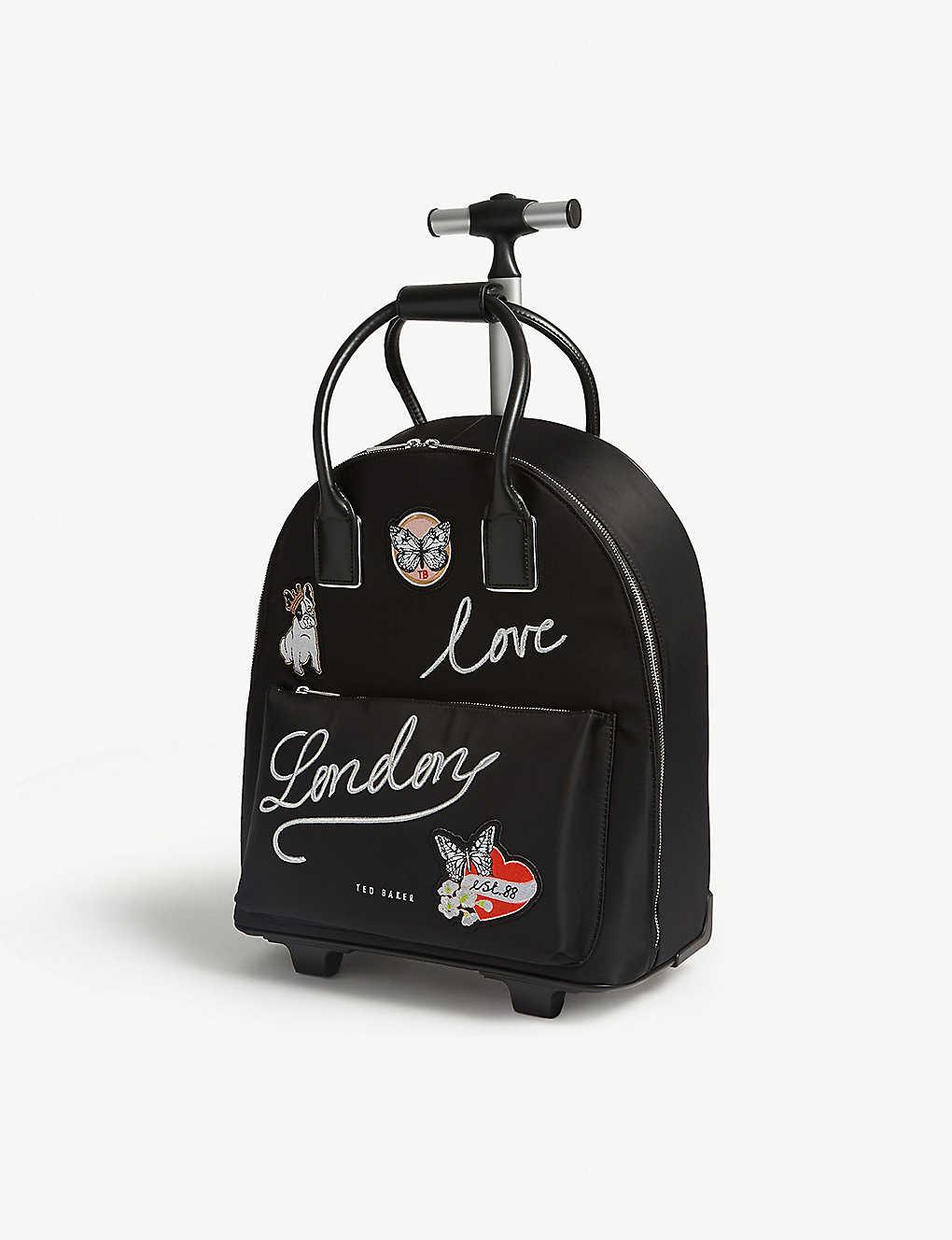 7081eb0eda2 TED BAKER - Sheeaa london two-wheel nylon travel bag | Selfridges.com