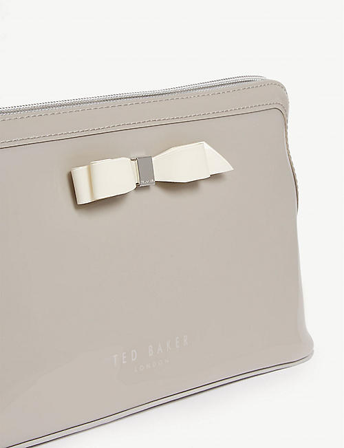 TED BAKER Cahira bow wash bag