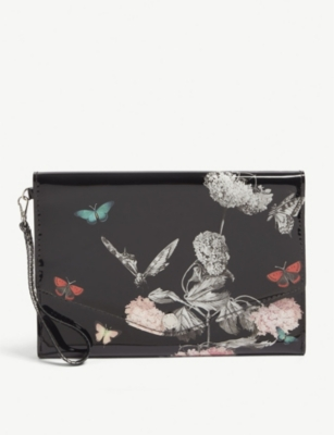 TED BAKER Lulan Narnia print pouch