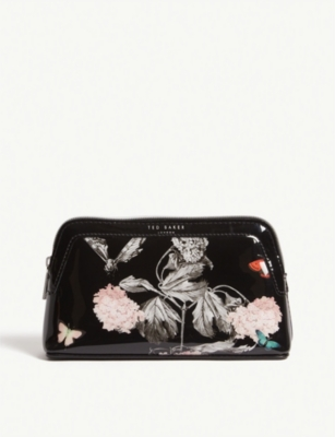 TED BAKER Noa printed make-up bag