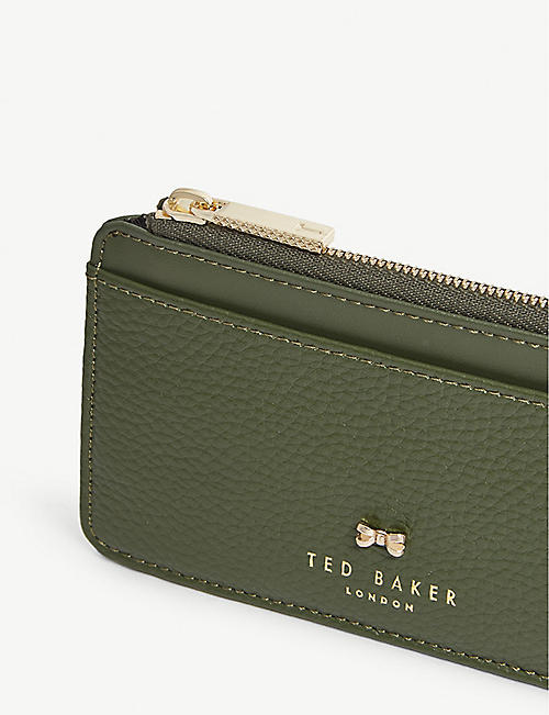8f24c034e74f8 TED BAKER Roselyn zip-around leather card holder