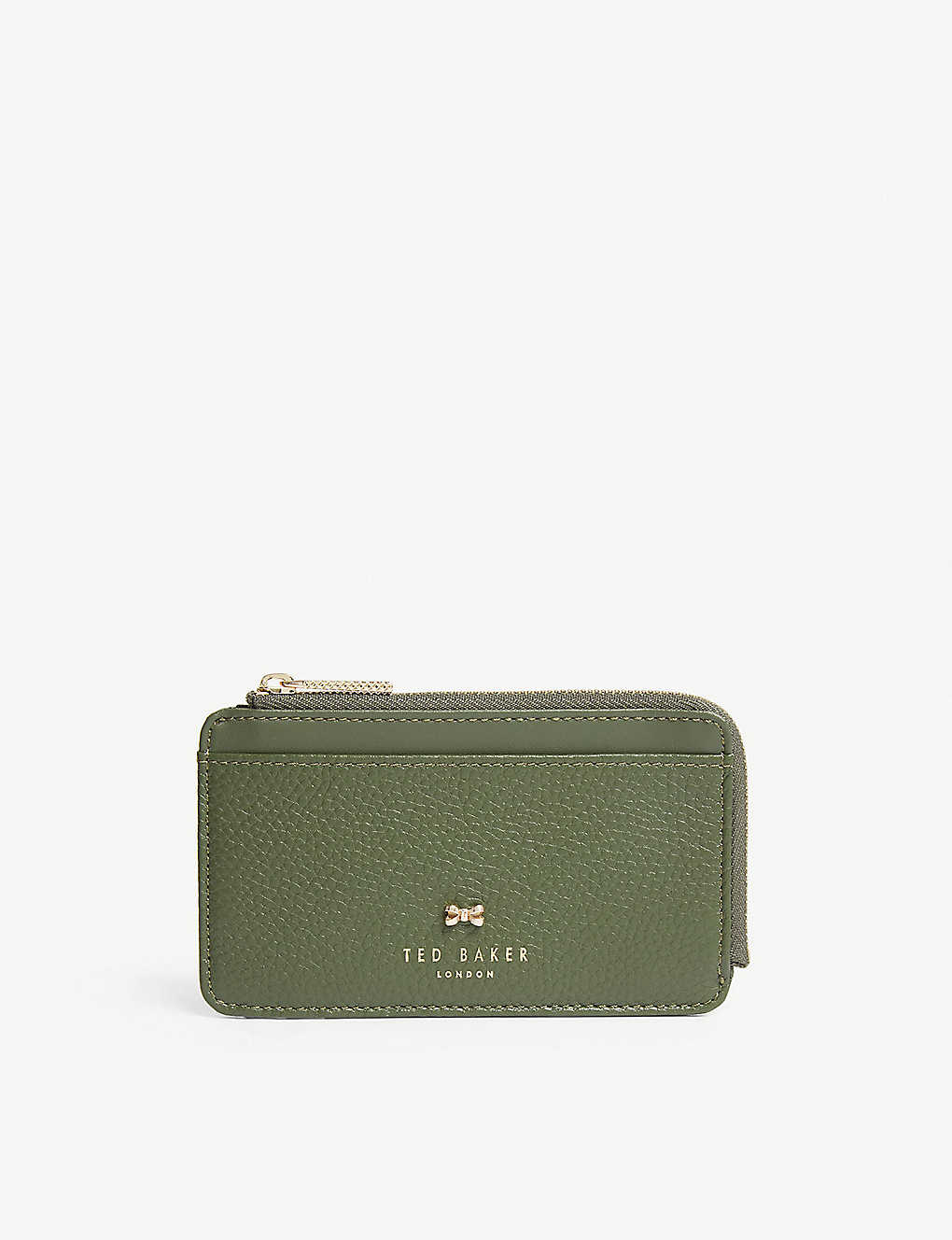 606b348b290 TED BAKER - Roselyn zip-around leather card holder | Selfridges.com