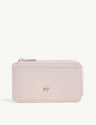 TED BAKER Roselyn zip-around leather card holder