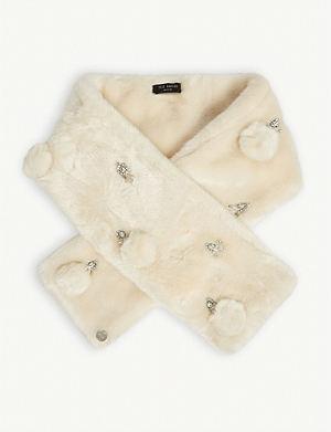 8407fdef86140 TED BAKER - Daiisy harmony print long silk scarf