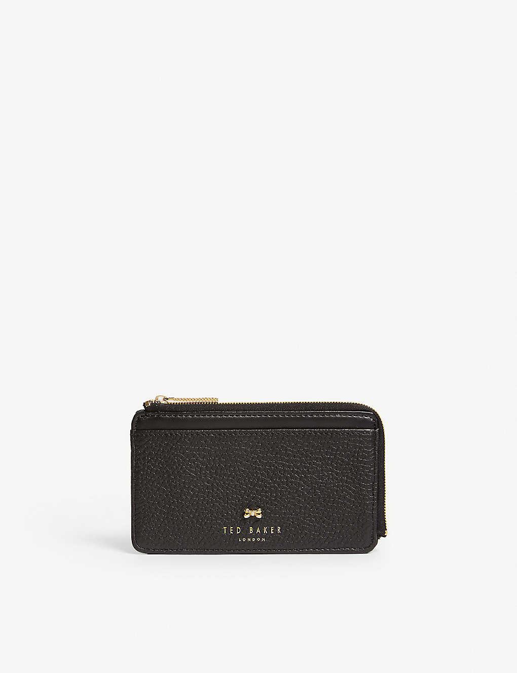 16b6d3e93c TED BAKER - Lotta zip-around leather card holder | Selfridges.com