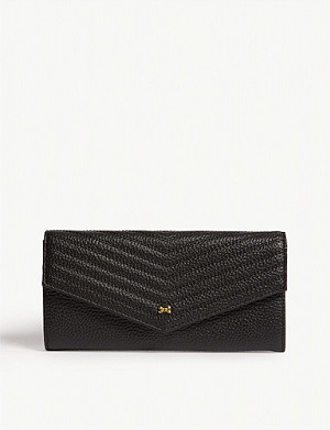 TED BAKER Tonya quilted leather matinee purse