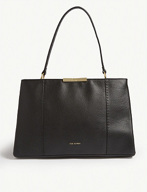 TED BAKER Faceted bow tote bag