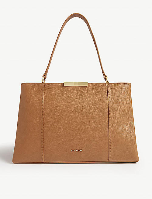 2d7b615b2429 TED BAKER Faceted bow tote bag