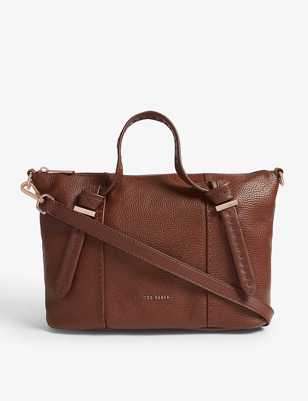 Olmia Tote Baker Grained Leather Ted Small VGzMpqSU