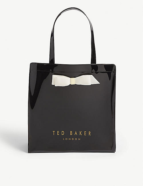 TED BAKER Bow detail large tote bag fb0629897b