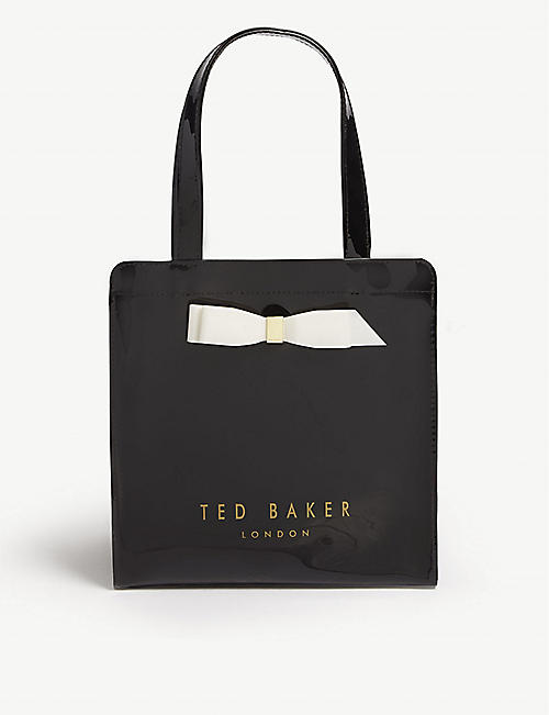 43ce50de2890 TED BAKER Bow detail small tote bag