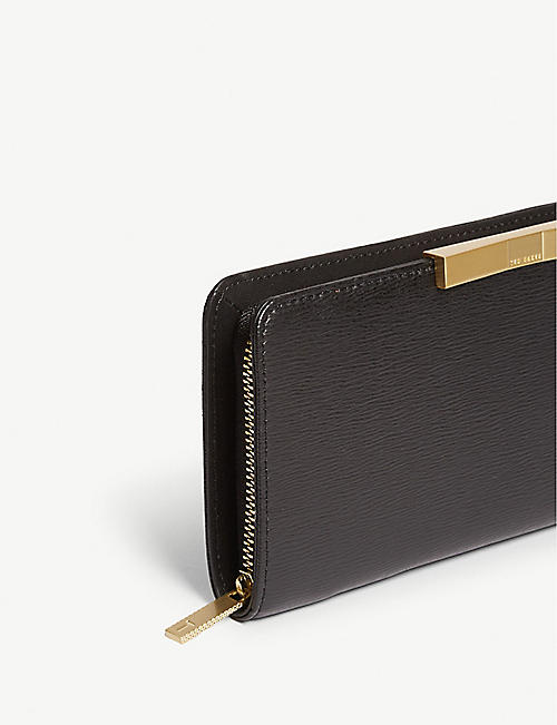 TED BAKER Flow leather matinee purse