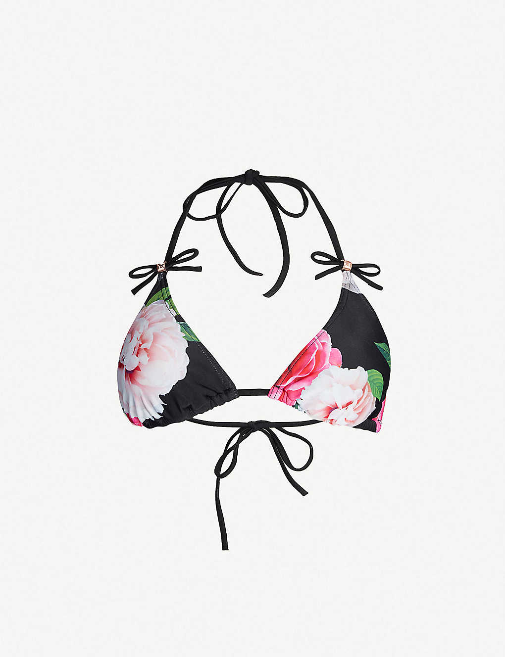 29ae7c15b6fe TED BAKER - Velmora floral-print bikini top