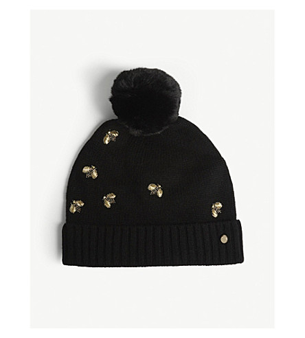4f1bf84ab8b TED BAKER - Bee embellished hat