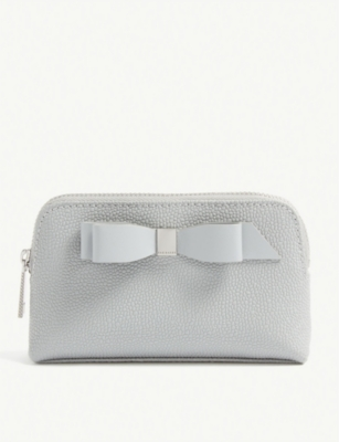 TED BAKER Emmahh mini leather make-up bag