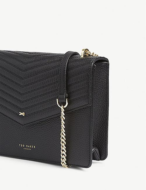 def19aafbb8 TED BAKER Kalila envelope leather cross-body bag