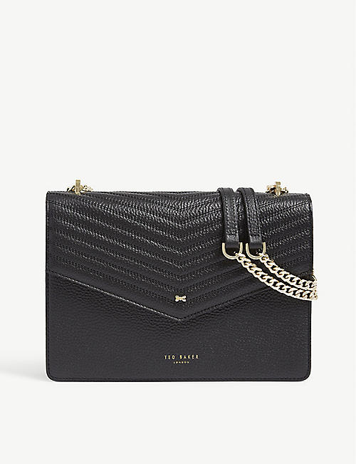 7a969ada9 TED BAKER Kalila envelope leather cross-body bag