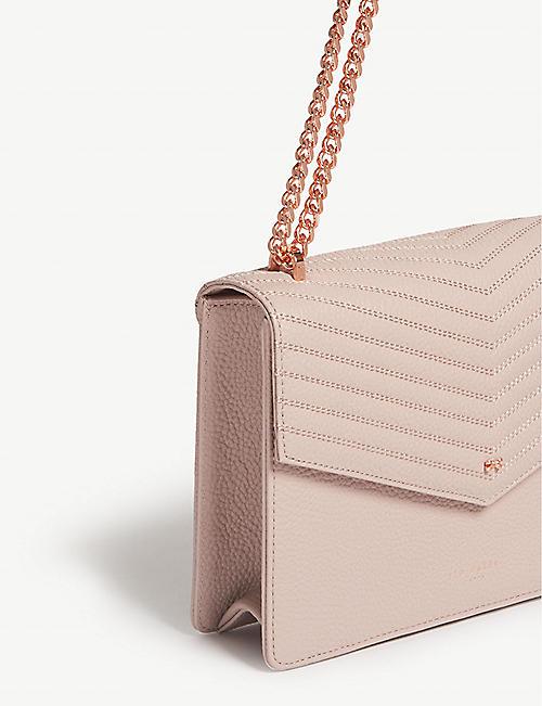 2e12ca7003d8ad TED BAKER Kalila envelope leather cross-body bag