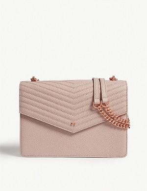 0ffbdd5e921d TED BAKER · Kalila envelope leather cross-body bag