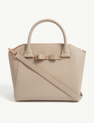 TED BAKER JANNE leather tote