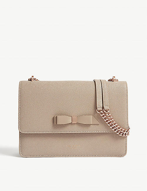 c4bea92f4c299d TED BAKER JOANAA leather cross-body bag