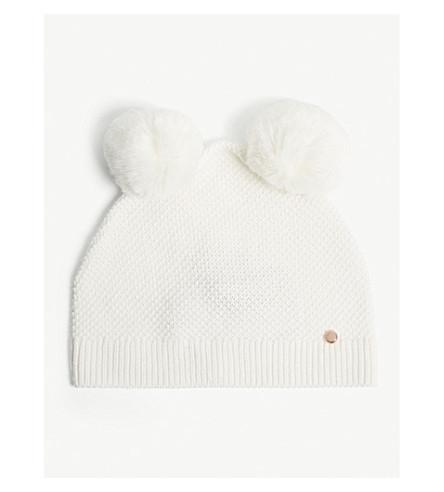 TED BAKER Yitza wool blend beanie (Ivory fd8fecfcb744