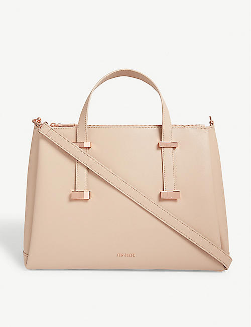 4940e1b31d4 TED BAKER Judyy leather tote bag
