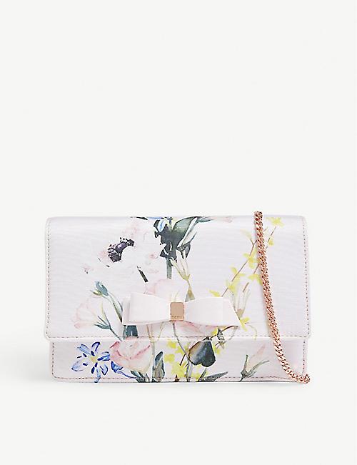 d2b652b42b41 TED BAKER Hania floral print cross-body bag