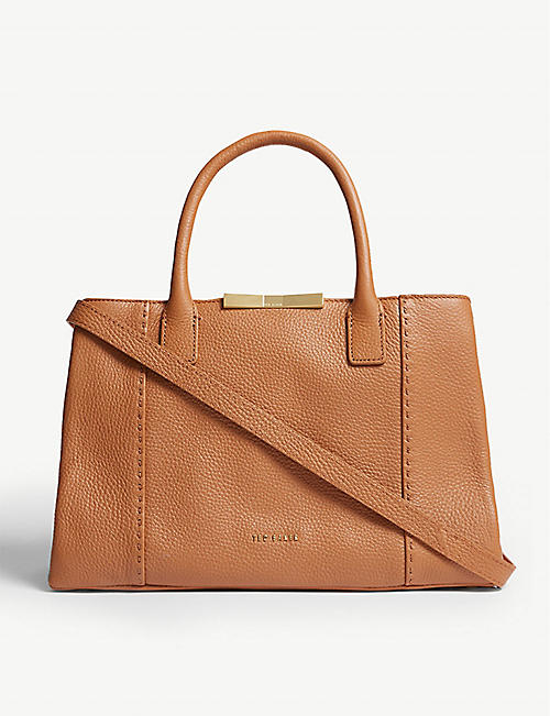 6ce2f7c43c0b TED BAKER Colesa leather tote