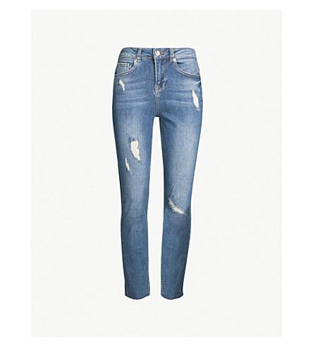fcdcf250381cd TED BAKER Elysie skinny high-rise jeans (Mid-blue